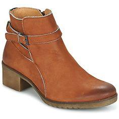 Kickers Mila bootsit nilkkurit ruskeat kengät nahkaa Naiset 142,00 €