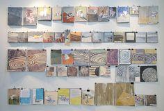 Sketchbook Wall