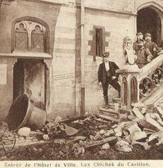 Forum Eerste Wereldoorlog :: Bekijk onderwerp - 14-18 Toen & Nu Stadhuis van Dendermonde