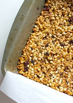 Peanut Butter Muesli Granola Bars | heartbeet kitchen