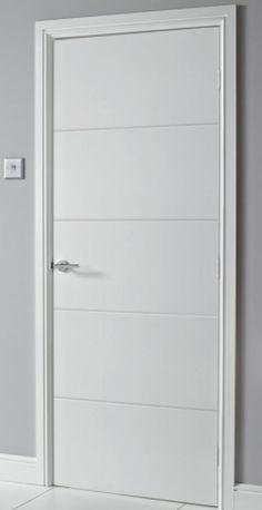 Door Design Interior, Interior Doors, Modern Interior, Grey Wood Tile, Design Your Own Home, Duplex House Design, Indoor Doors, Moldings, Modern Bedroom