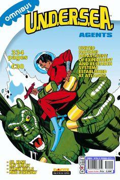Deux mois pour finir les SOUSCRIPTIONS UNDERSEA AGENTS OMNIBUS.  Faites vos jeux ! Profitez de cette belle occasion pour vous offrir un omnibus plus un gratuit; visitez le site Atlantis, Comic Books, The Unit, Age, Occasion, Comics, Authors, Gaming, Comic Book