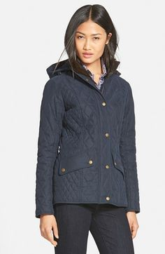 Barbour 'Brocklane' Waterproof Quilted Jacket available at #Nordstrom Sale: $229.90 After Sale: $349.00 Item #1087675