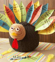 Kid Thanksgiving Centerpiece