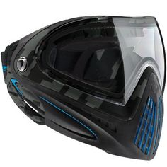 DYE i4 Goggle System Thermal Airstrike Cyan | Badlands Paintball Gear Canada