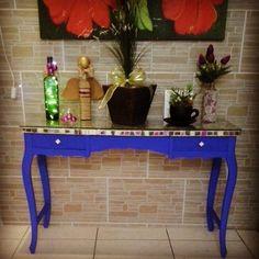 1601423_801446473255241_3179632878702765484_n Sea Glass Mosaic, Entryway Tables, Creative, Gisele, Furniture, Santa Barbara, Barbie, Home Decor, Ideas