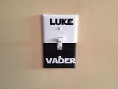 Luke vs Vader Light Switch Wall Plate