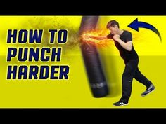 How to execute a punch FASTER & HARDER - How to throw a punch correctly - YouTube