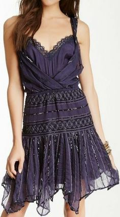 Beautiful Shimmer Beaded Dress