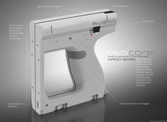 ArtStation - Medicorp NanoScan, Aaron Kaminer