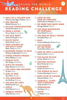 Looking for a reading challenge to inspire you to read more books in See if you can read all 32 books from our list of books from around the world! 101 Nights of Great Sex Edition!): Secret Sealed Seductions For Fun-Loving Couples Book Nerd, Book Club Books, Good Books, My Books, Book Challenge, Reading Challenge, Reading Lists, Book Lists, Books To Buy