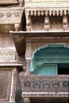 Haveli (merchants' houses), Jaiselmere in Rajastan