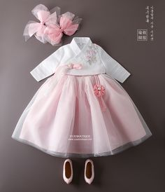 s Clothing Children' Baby Dress Design, Baby Girl Dress Patterns, Korean Traditional Dress, Traditional Outfits, Sewing Kids Clothes, Doll Clothes, Cute Girl Dresses, Nice Dresses, Kids Outfits Girls