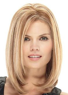 8 Inch Silky Straight #18/27 Remy Human Hair Full Lace Wigs