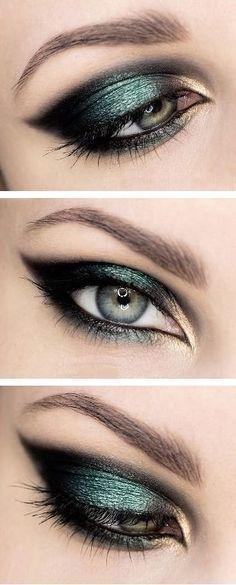 15 Ideas de maquillaje para ojos que debes intentar en tu…