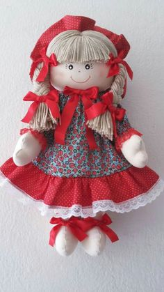 Doll Doll Clothes Patterns, Doll Patterns, Diy Doll Pattern, Raggy Dolls, Doll Face Paint, Sock Animals, Sewing Dolls, Felt Diy, Soft Dolls