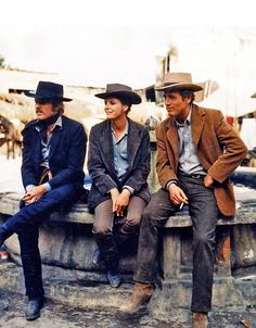 robert redford, katharine ross, paul newman