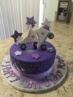 Rollerskating Cake