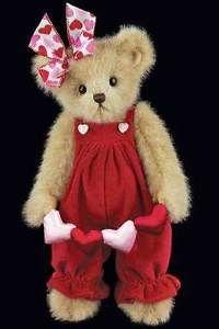 bearington bears valentine | Details about BEARINGTON BEARS LOTTIE LOVE VALENTINES BEAR