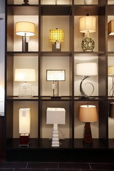 New display at our Southampton showroom Lighting IS Exciting