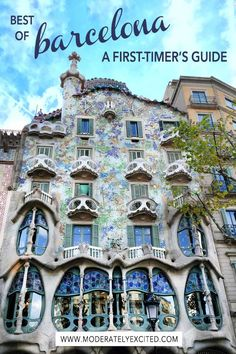 Heading to Barcelona, Spain? Check out this guide for everything you need to know about where to stay, tapas, nightlife and more!  #barcelona #spain #europe #visitbarcelona #barcelonaitinerary #tripplanning #travelplanning #vacationplanning #barcelonaspain