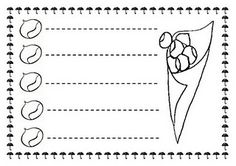 ESOS LOCOS BAJITOS DE INFANTIL: FICHAS DE GRAFOMOTRICIDAD DE OTOÑO Homeschool Kindergarten, Preschool, Pre Writing, Activity Sheets, Educational Activities, Fine Motor, Worksheets, Learning, Fall