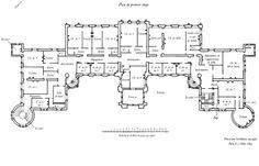 the o 39 jays floors and usa on pinterest On waddesdon manor floor plan