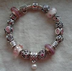 Pandora Bracelets {Sweet in all its pink beauty! -PandoraMOA}