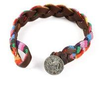Braided Rainbow Bracelet | Cute Bracelets at Pink Ice