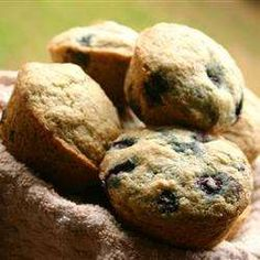 Muffins aux bleuets tout simples - Recettes Allrecipes Québec Allrecipes, Muffins, Breakfast, Desserts, Absolutely Fabulous, Everything, Cooking Recipes, Children, Morning Coffee