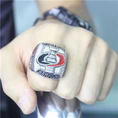 Carolina Hurricanes 2006 NHL Stanley Cup Championship Ring for Sale Click Bio to Buy #carolinahurricanes #hurricanes #NHL #stanleycup #hockey #nhlplayoffs #stanleycupplayoffs #icehockey #nhl16 #hockeylife #hockeygame #stanleycupchampions #championshipring