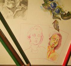 Ну вот тут ещё цветные карандаши добавились.