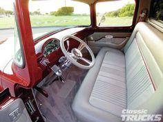 1956 F100 Interior