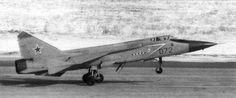 MiG-31D ASAT (anti-satellite) missile launcher