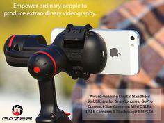 World First Smartphone Digital Stabilizer & Full Collections by Gazer — Kickstarter