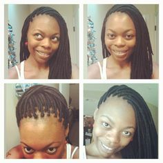 Genie locs/yarn braids: absoultely gorgeous!! My hair inspiration!!