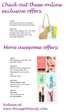Avon coupon codes for July 2016.