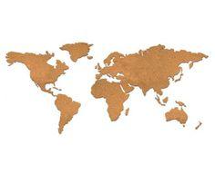 €39,95 Cork Board World Map