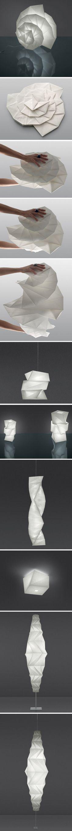 IN-EI par Issey Miyake pour Artemide - Journal du Design