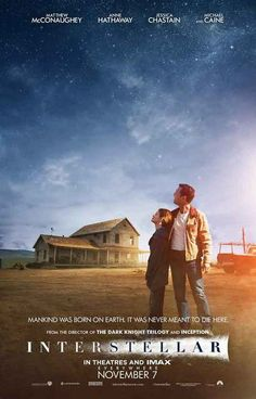 Interstellar Born on Earth Movie Poster 11x17