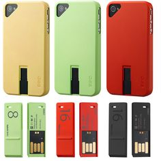 #Geek Alert! #IPhone case coupled with a USB drive. A match truly made in heaven;)