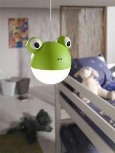 Dětský lustr 41022/33/16, #chandelier #frog #ceiling #children #kid #kids #baby #boy #girl #led #philips Green Frog, Luminaire Design, Kids Lighting, Philips, Decoration, Yoshi, Kids Toys, Lights, David