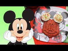 Holiday Mickey Waffles 4 Ways Disney Food, Disney Stuff, Family Video, Waffle Recipes, Disney Family, Waffles, Mickey Mouse, Dishes, Disney Characters