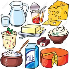 Dairy products icon set vector image on VectorStock Art Drawings For Kids, Drawing For Kids, Icon Set, Adobe Illustrator, Healthy And Unhealthy Food, Food Pyramid, Food Drawing, Food Illustrations, Cute Food