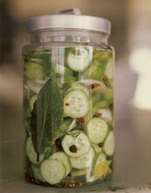 Mom's Fridge Pickles