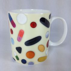 Eames Office Bone China Mug Cup Pills, Medicine by Whitbread Wilkinson