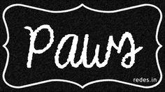 paws Do It Yourself – Inspirational Wall Art Using Shoe Box Lid #ShoeBoxLid #Inspirational #Quotes #WallArt #FreeTemplate