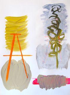 Danielle Borremans / Retour à la lettre A, 2013