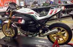 RocketGarage Cafe Racer: Griso 77