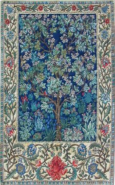 Historic Style - Tapestries - Floral & Tree (Tree of Life II)